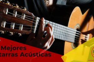 Las mejores guitarras acústicas