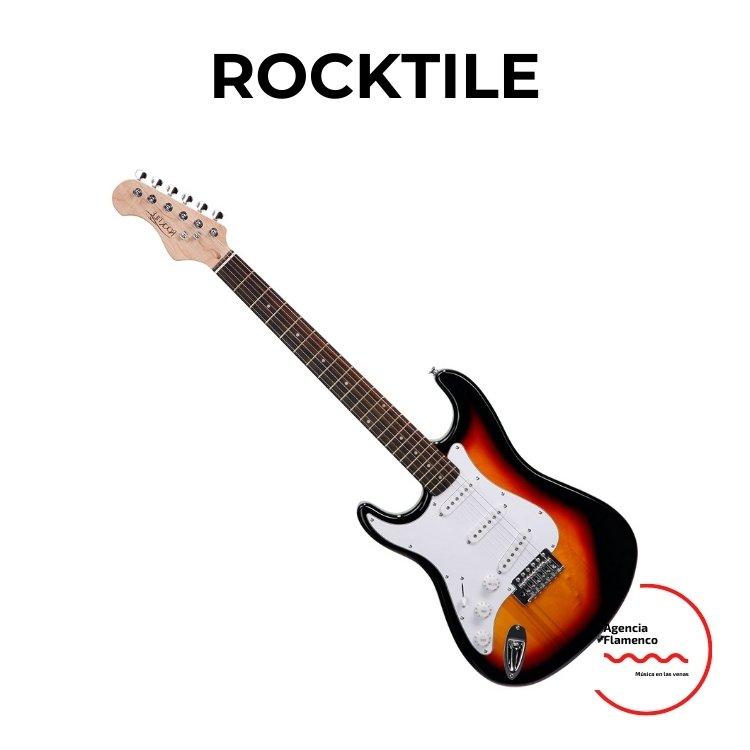 3 Guitarra Eléctrica Rocktile ST sunburst