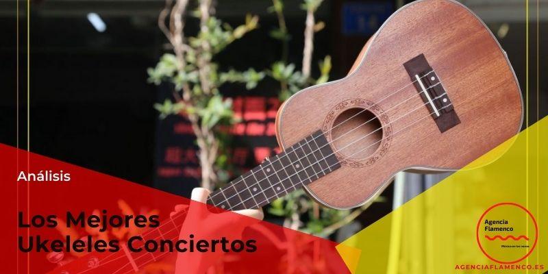 Los Mejores ukeleles conciertos
