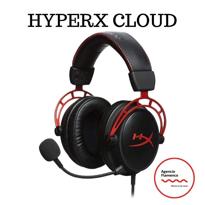 2. HyperX Cloud Alpha Pro. Cascos de Gaming con cable trenzado extraíble