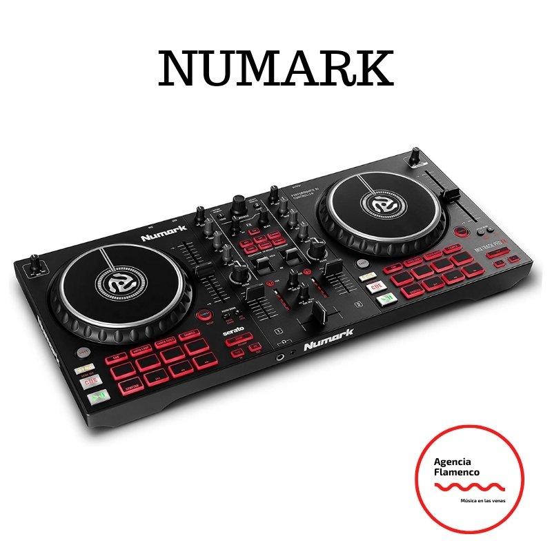 5. Numark Mixtrack Pro FX - Controlador DJ de 2 secciones para Serato