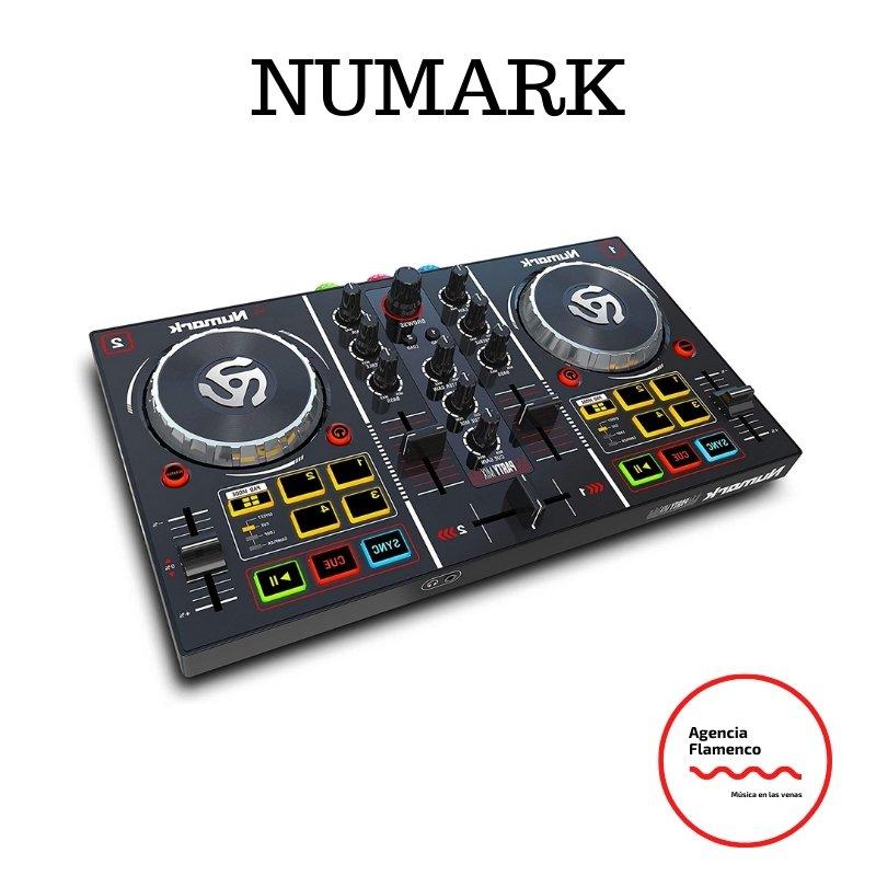 1. Numark Party Mix - Controlador de DJ plug-and-play de 2 canales