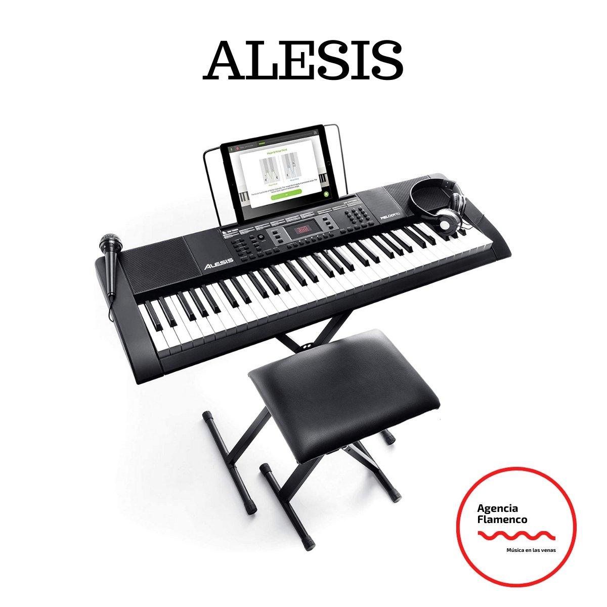 1. Alesis Melody 61 MKII –Piano digital con 61 teclas