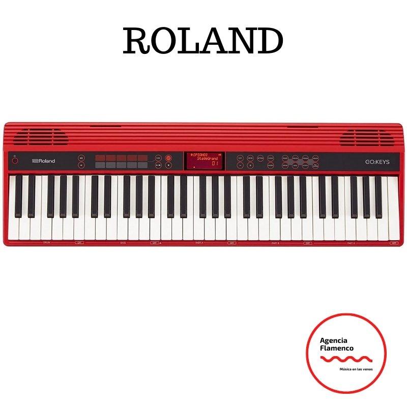 4 Roland GO-61K.  Teclado electric