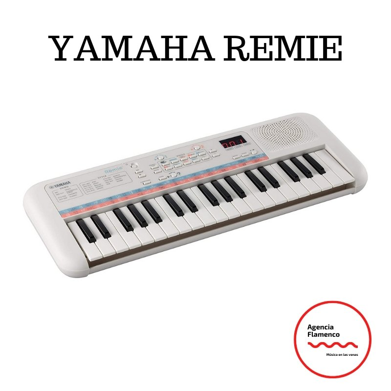 3. YAMAHA Remie. PSS-E30. Teclado portátil con 37 mini teclas