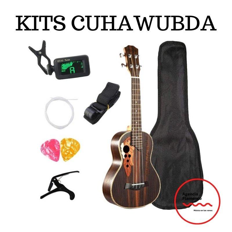 4 Kits Ukelele Concierto Cuhawubda