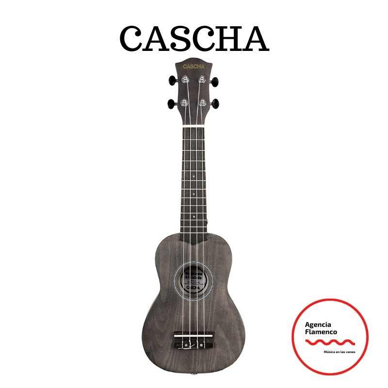 3 Cascha. Ukelele soprano negro