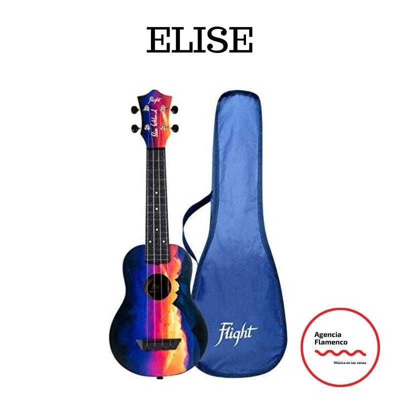 1 Elise Ecklund. Ukelele soprano