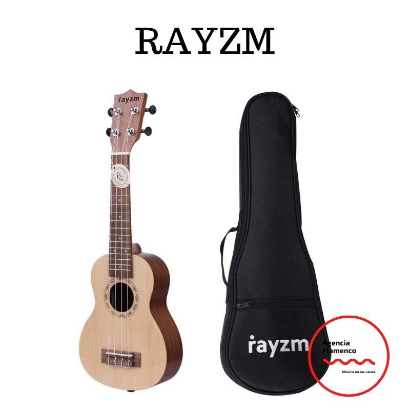 5 Rayzm Ukelele Soprano con Bolsa