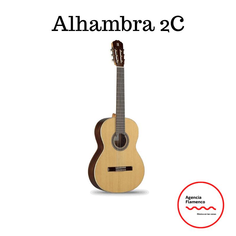 4. Guitarra Clásica Alhambra 2C (4/4)