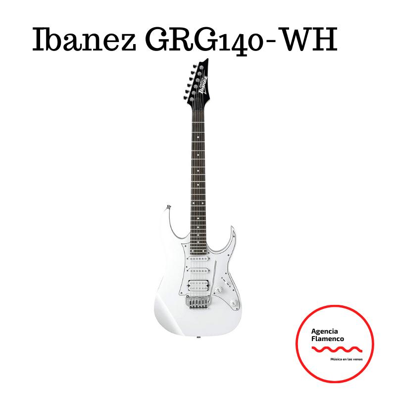 3.  Guitarra eléctrica Ibanez GRG140 WH