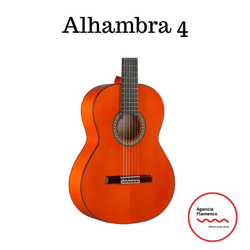 2. Guitarra acústica flamenca Alhambra