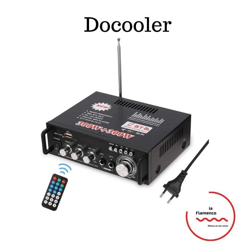 3. Docooler 12V amplificador de sonido