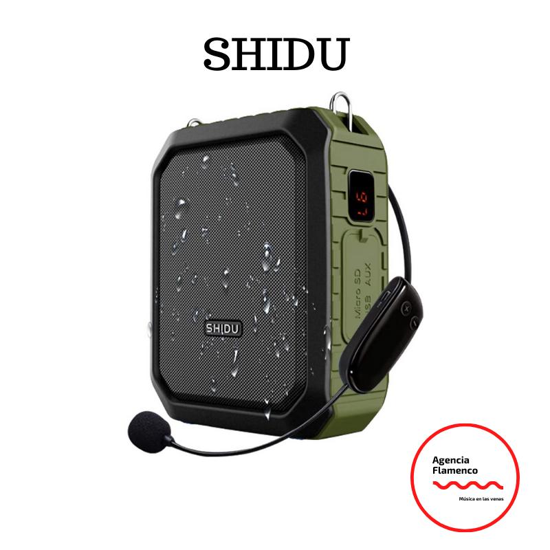 3.  SHIDU Amplificador de voz inalambrico