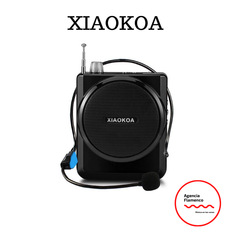 4. XIAOKOA Amplificador de voz.