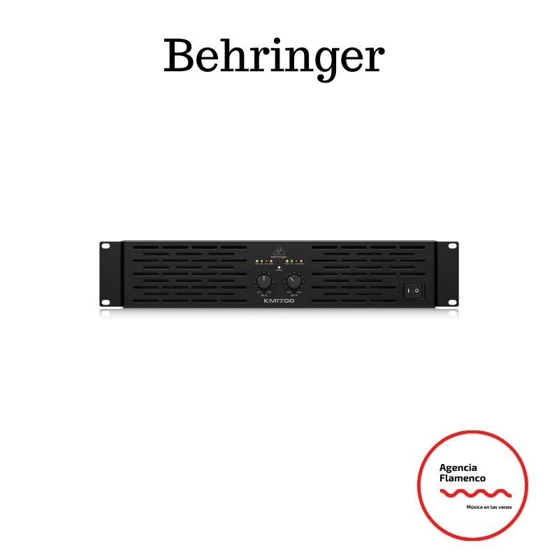 Etapa de potencia Behringer