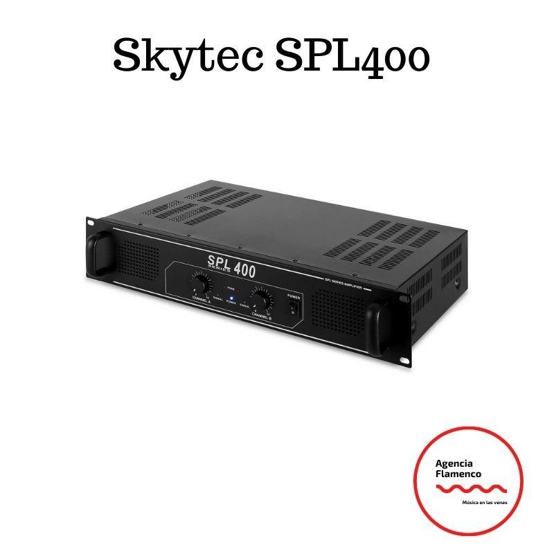 3. Skytec SPL400 Amplificador etapa de potencia