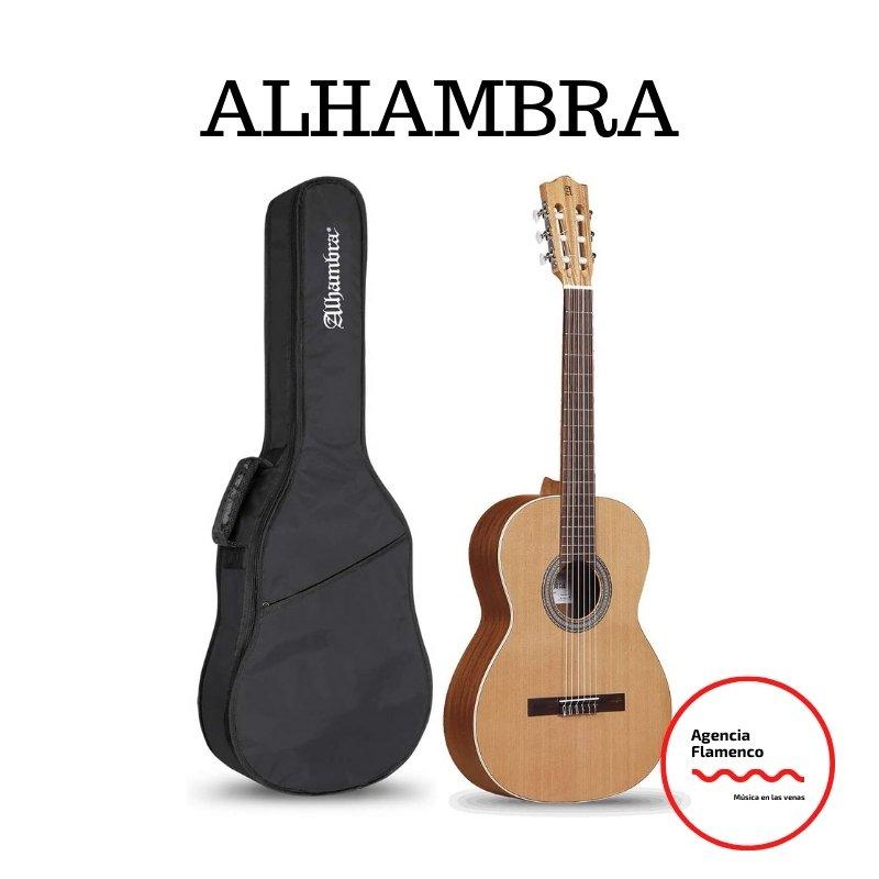 1.Alhambra Z-Nature - Pack Guitarra Clásica Española + Funda