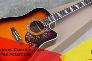 Las mejores cuerdas de guitarra acústica