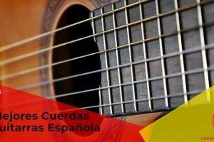 Mejores cuerdas de guitarra española