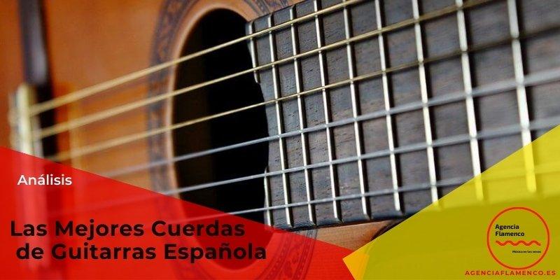 Las Mejores cuerdas de guitarras española