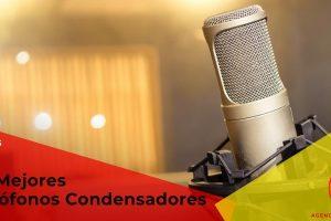 Los mejores micrófonos condensadores