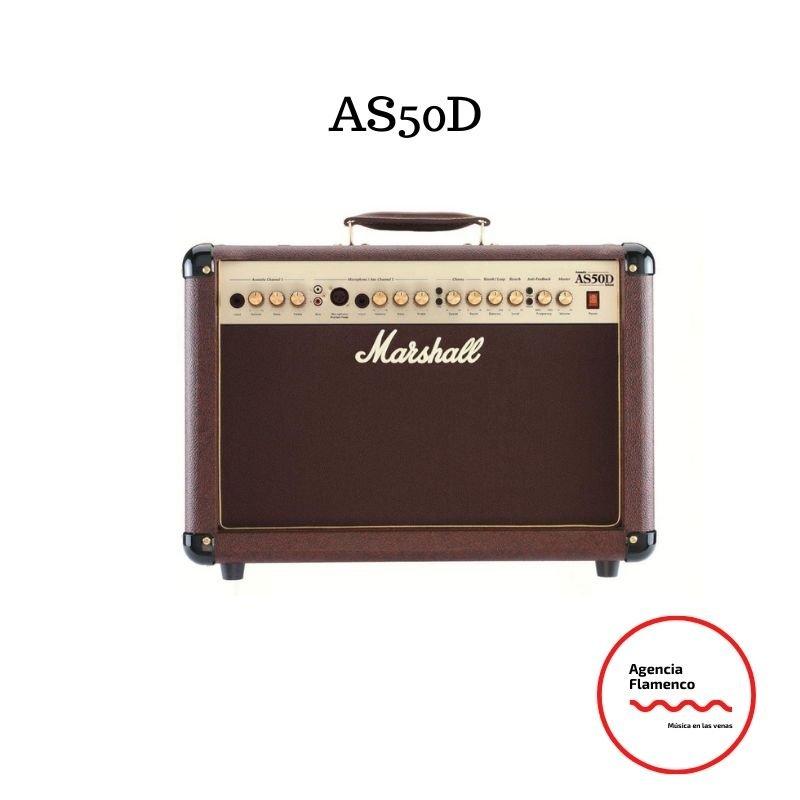 3. Marshall AS50D - Amplificador guitarra combo 50 w mma