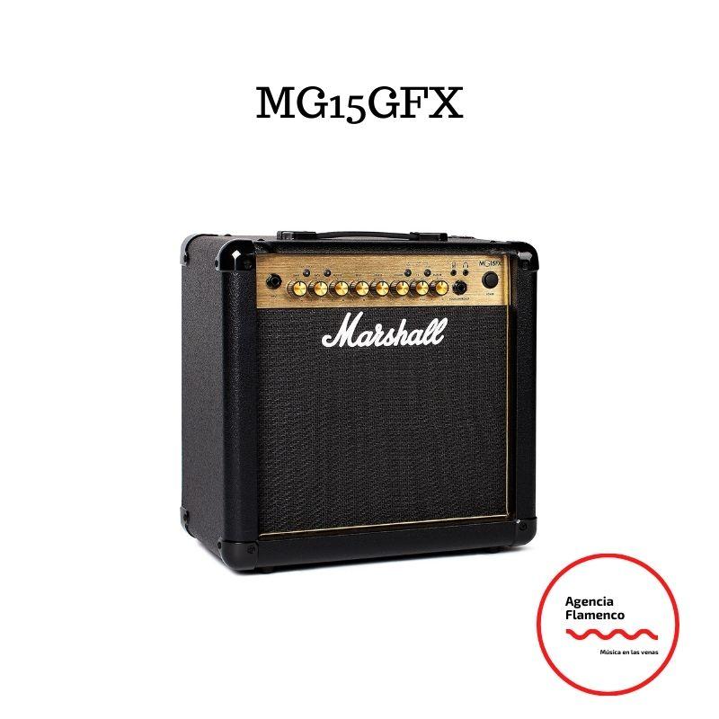 Los mejores Amplificadores Marshall MG15GFX