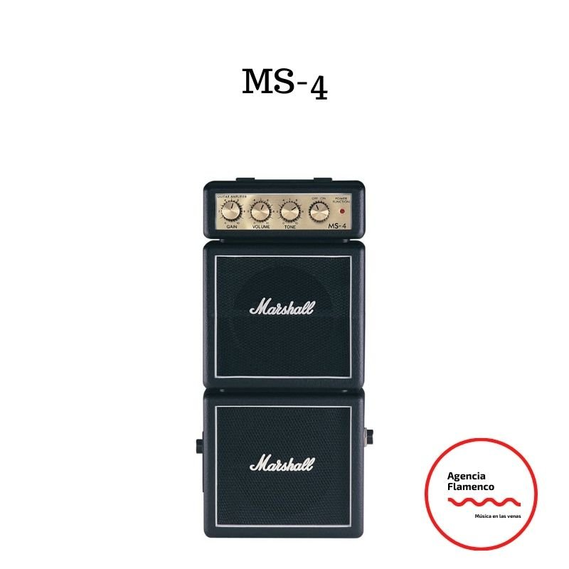 1. Amplificador Marshall MS 4