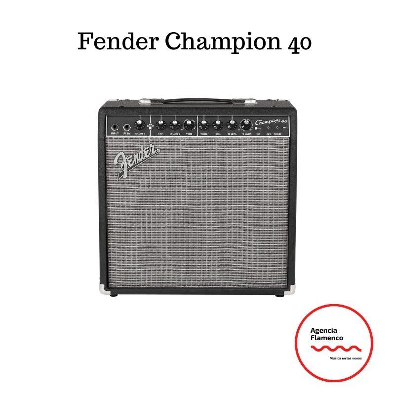 Mejores amplificadores de guitarra Fender Champion 40