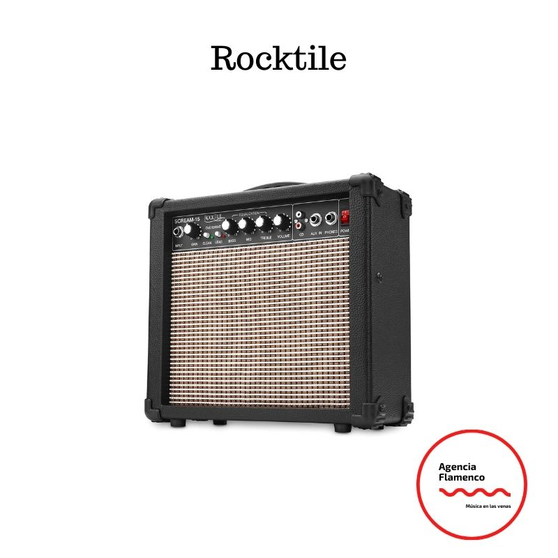 3.   Rocktile Scream-15 - Amplificador para guitarra