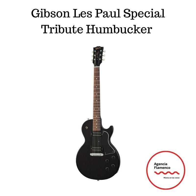 Mejores marcas de guitarras Gibson Les Paul Special Tribute Humbucker