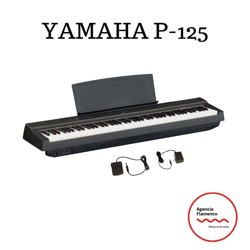 4. Yamaha P125 88-Key Weighted Action Digital Piano