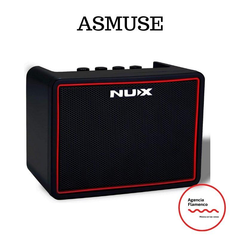 3. Asmuse Amplificador para guitarra eléctrica y acústica
