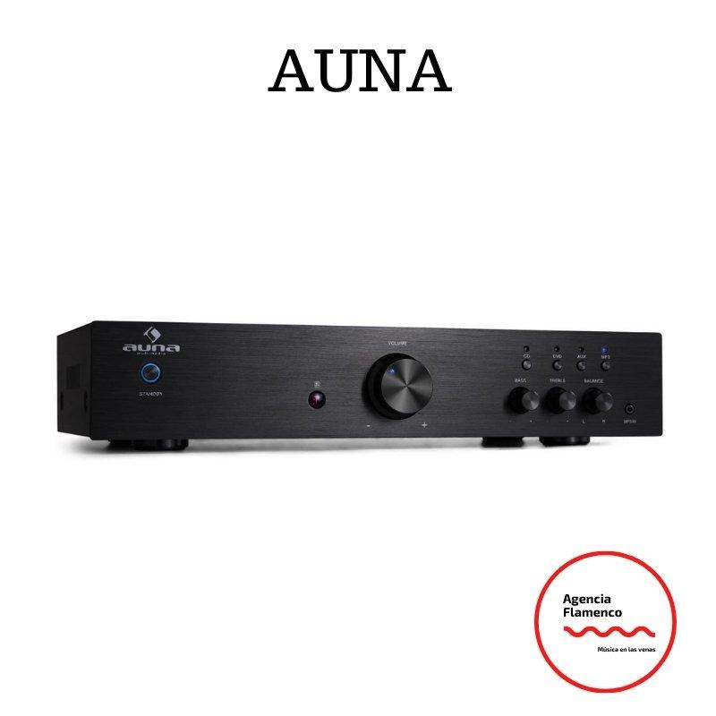 5. Auna AV2-CD508 Amplificador HIFI Estéreo Negro