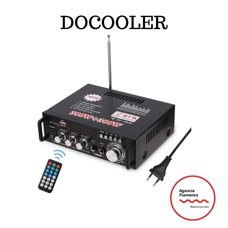 1. Docooler 12 V amplificador