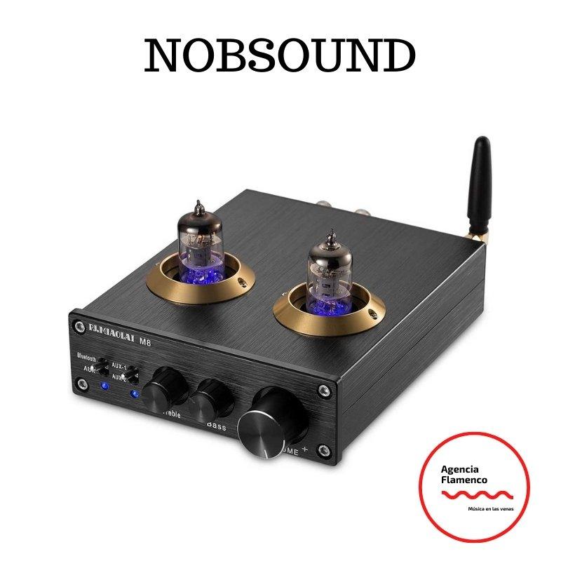 3. Nobsound amplificador de tubo