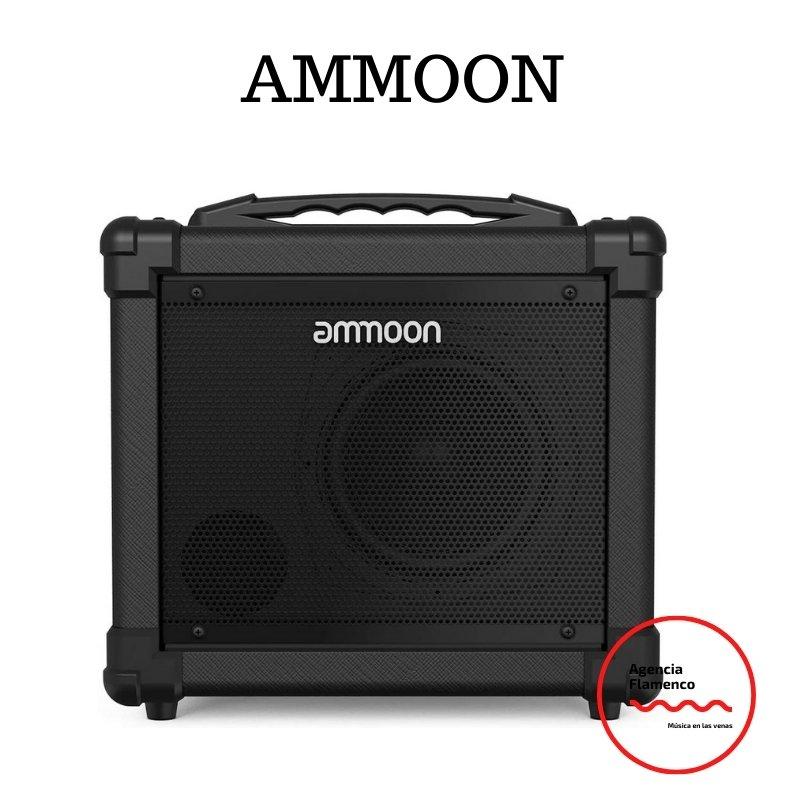 2. Ammoon Amplificador de Guitarra Portátil POCKAMP