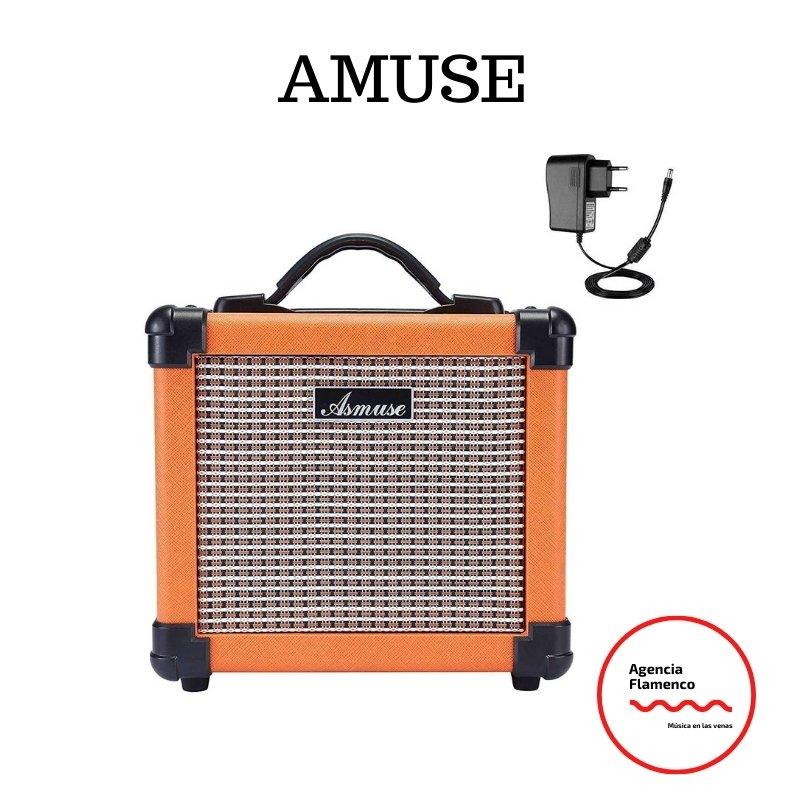 3. Asmuse Amplificador de Guitarra Elctrico Portatil Bajo Combo Instrumentos