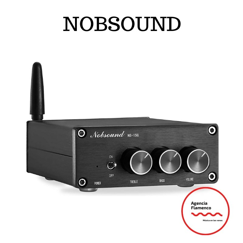 1. Nobsound Mini TPA3116 Amplificador digital Hi-Fi