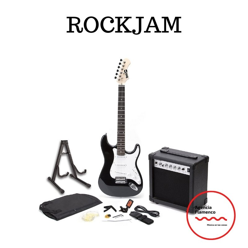 guitarra eléctrica barata rockjam