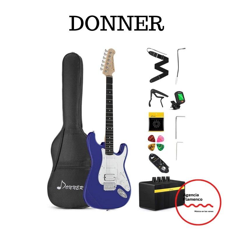 2. Guitarra Económica Eléctrica Donner