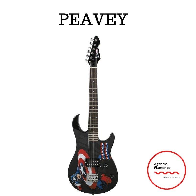 2. Guitarra eléctrica para niño 8 años Peavy Rockmaster