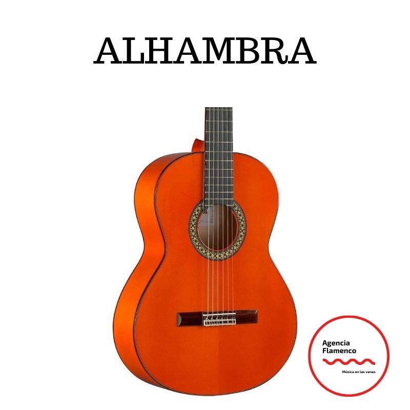 4. Guitarra acústica flamenca Alhambra 4