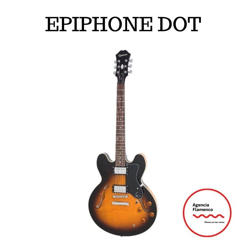2. Guitarra eléctrica Epiphone Dot