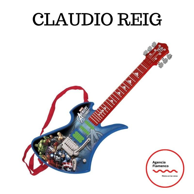 5. Guitarra eléctrica Claudio Reig