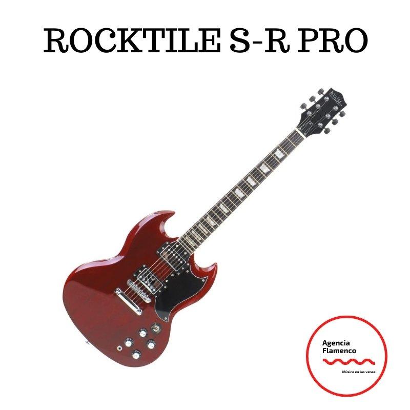 4. Rocktile L-200OHB Pro Honey Burst  Guitarra eléctrica