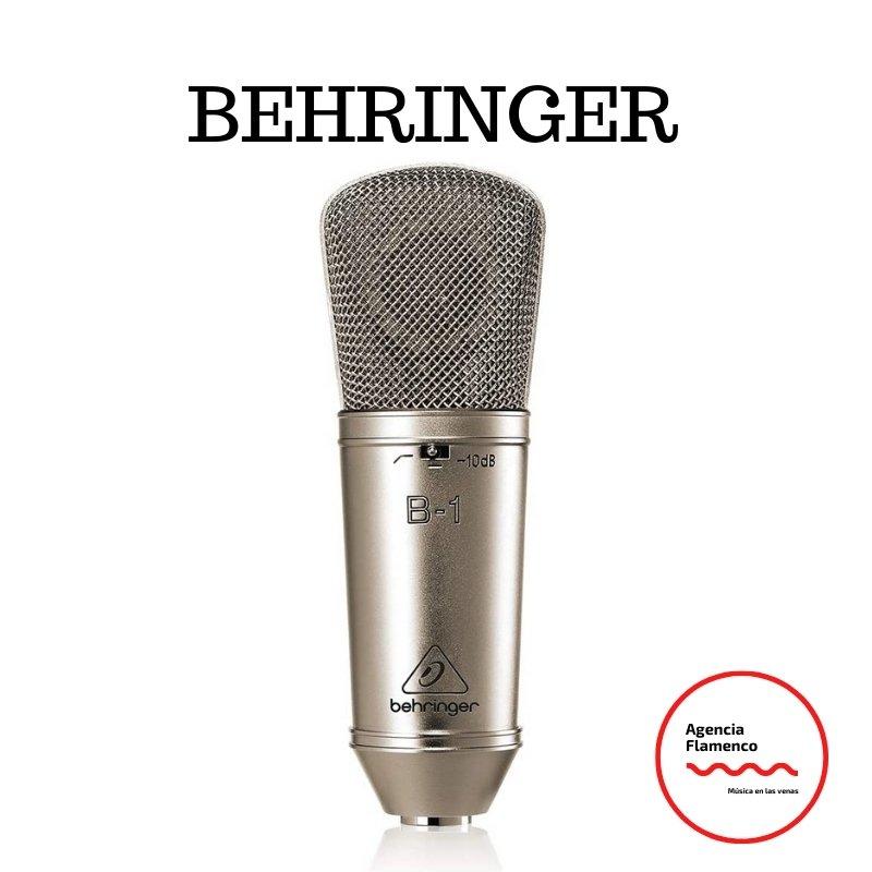 4. Behringer B-1 Micrófono de condensador