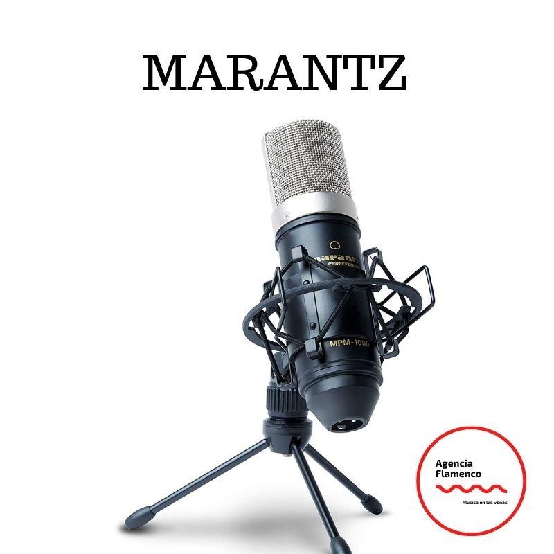 micrófono condensador marantz