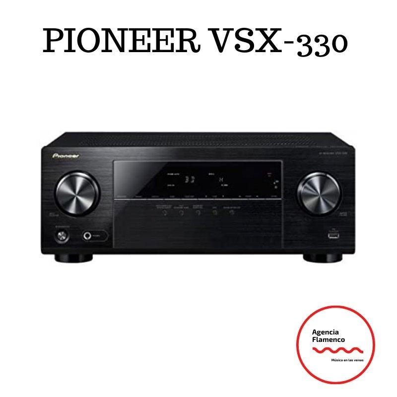 1. Pioneer VSX-330-K – Sintoamplificador